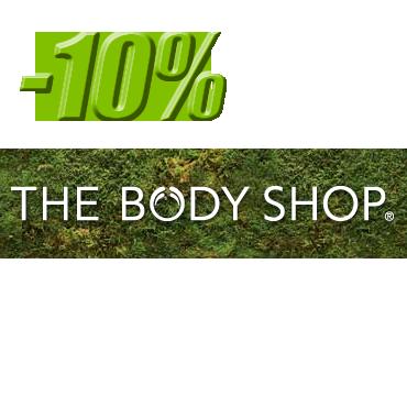 Промокод TheBodyShop! 10% скидки!