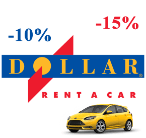 Dollar Rent-a-Car Promo Code! 10-15% скидки!