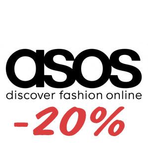 asos.com промокод на скидку 20% на все!