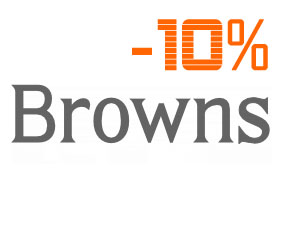 brownsfashion.com promotional code! 10% off all orders!