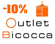 Outlet Bicocca Voucher! 10% OFF any order!