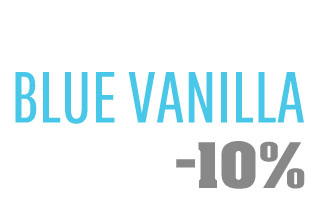 Blue Vanilla Coupon Code! 10% off any order!